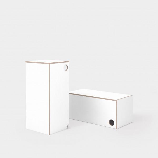Stehen Sitzen Box